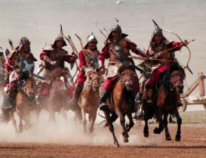 モンゴル騎馬軍団