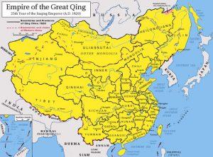 清朝最大版図