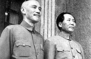 蒋介石,毛沢東