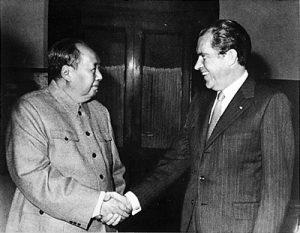 毛沢東,ニクソン