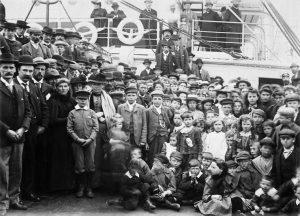 アメリカ移民船