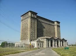 デトロイト廃墟